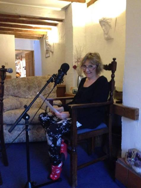 Sally Wathen Recording The Journey